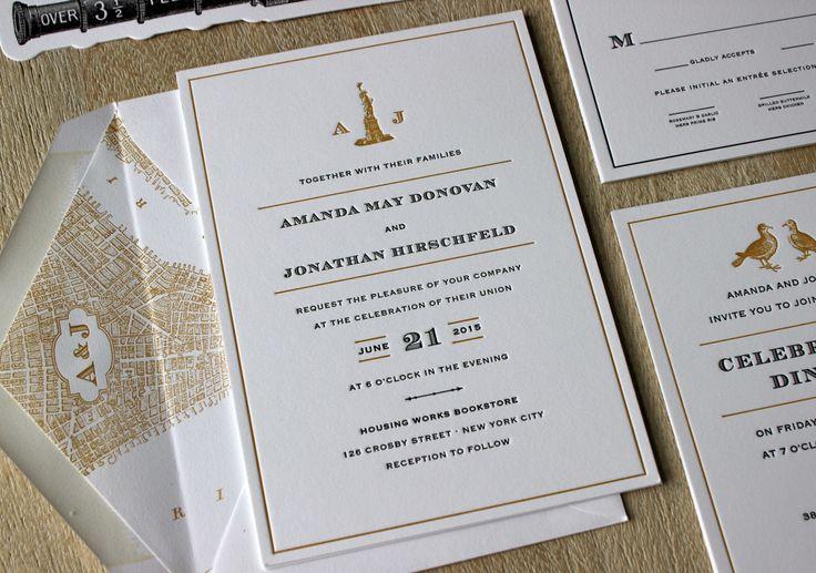 Letterpress Printing Wedding Invitations: 103 Best Custom Letterpress Printing Images On Pinterest