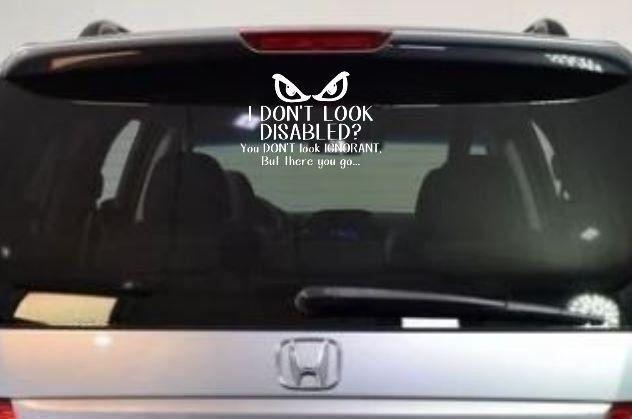 This little light of mine.. funny vinyl decal for car//truck window Orange