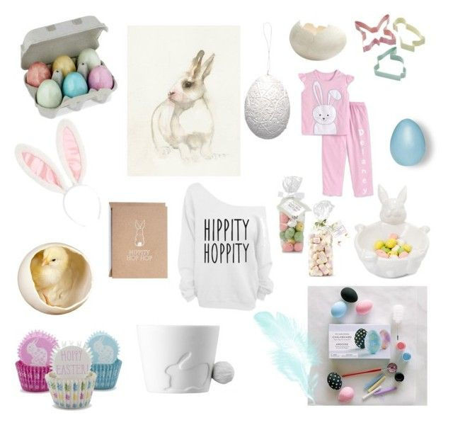 Pastel-easter! by junesdagbokpoly on Polyvore featuring interior, interiors, interior design, home, home decor, interior decorating, Sur La Table, Sweetly Does it, GreenGate and Laura Ashley