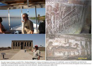 Shardana i Popoli del Mare (Leonardo Melis): DENDERA: i Misteri di Osiride. L'elettricità
