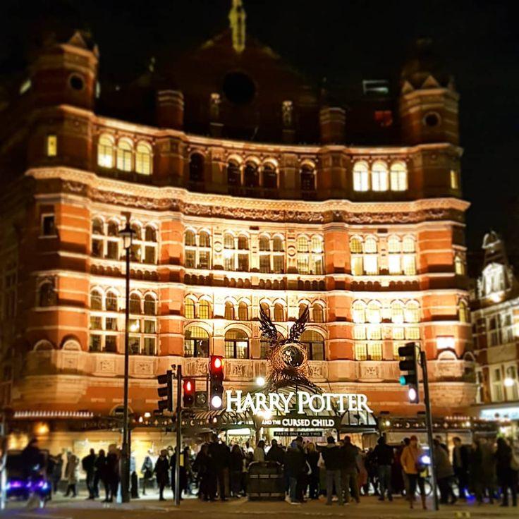 Palace Theatre #harrypotter #theatre #london