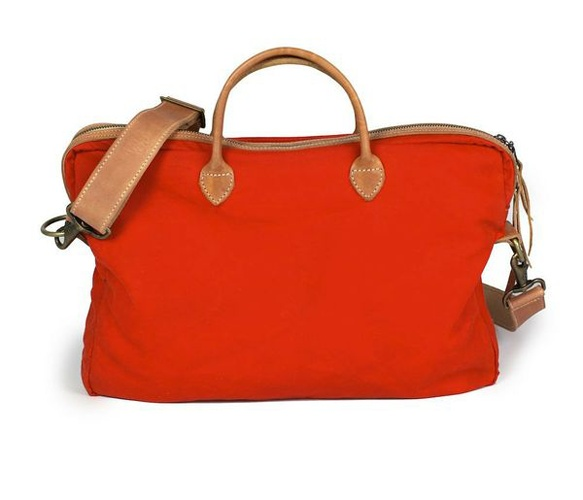 Red w/ leather bag...also love it in black!