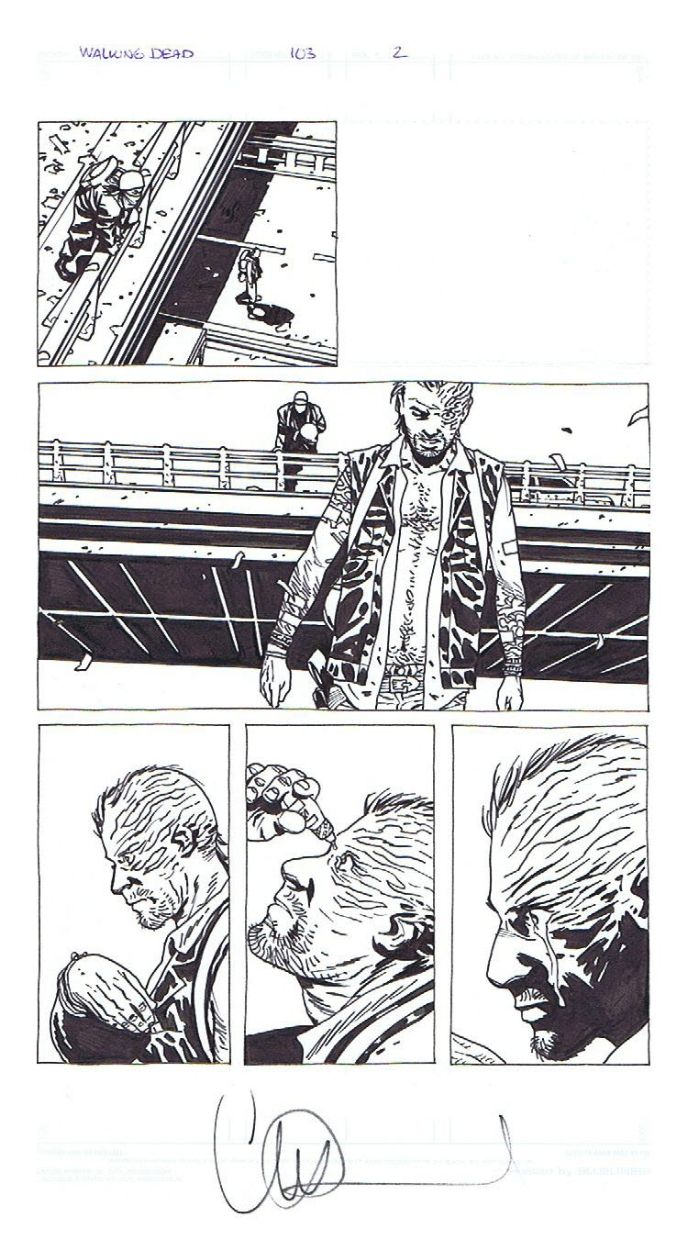 The Walking Dead Comic Art | walkingdead | Pinterest ...
