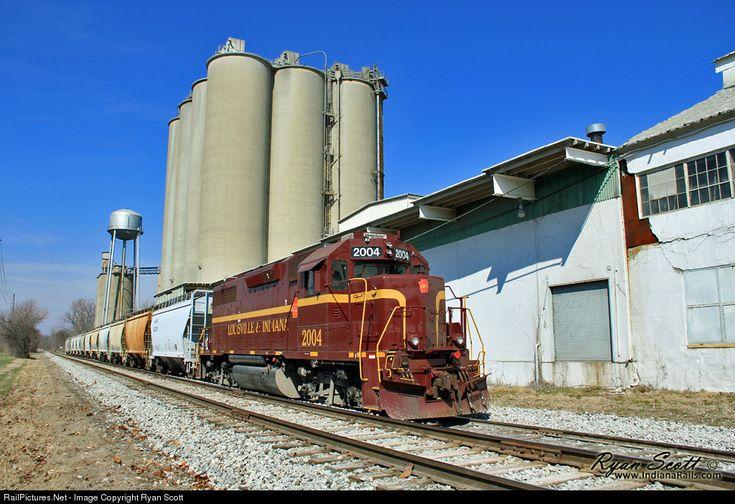 RailPictures.Net Photo: LIRC 2004 Louisville & Indiana Railroad EMD GP38-3 at Sellersburg, Indiana by Ryan Scott