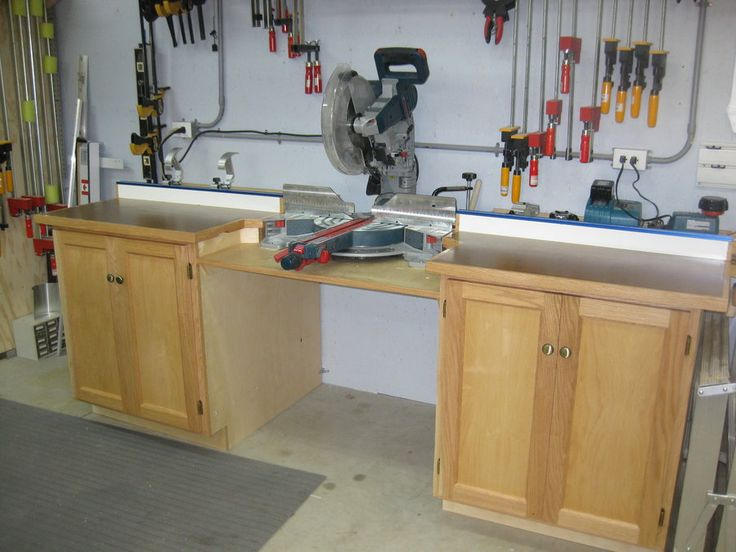 Miter Saw Station Google Search Garage Shop