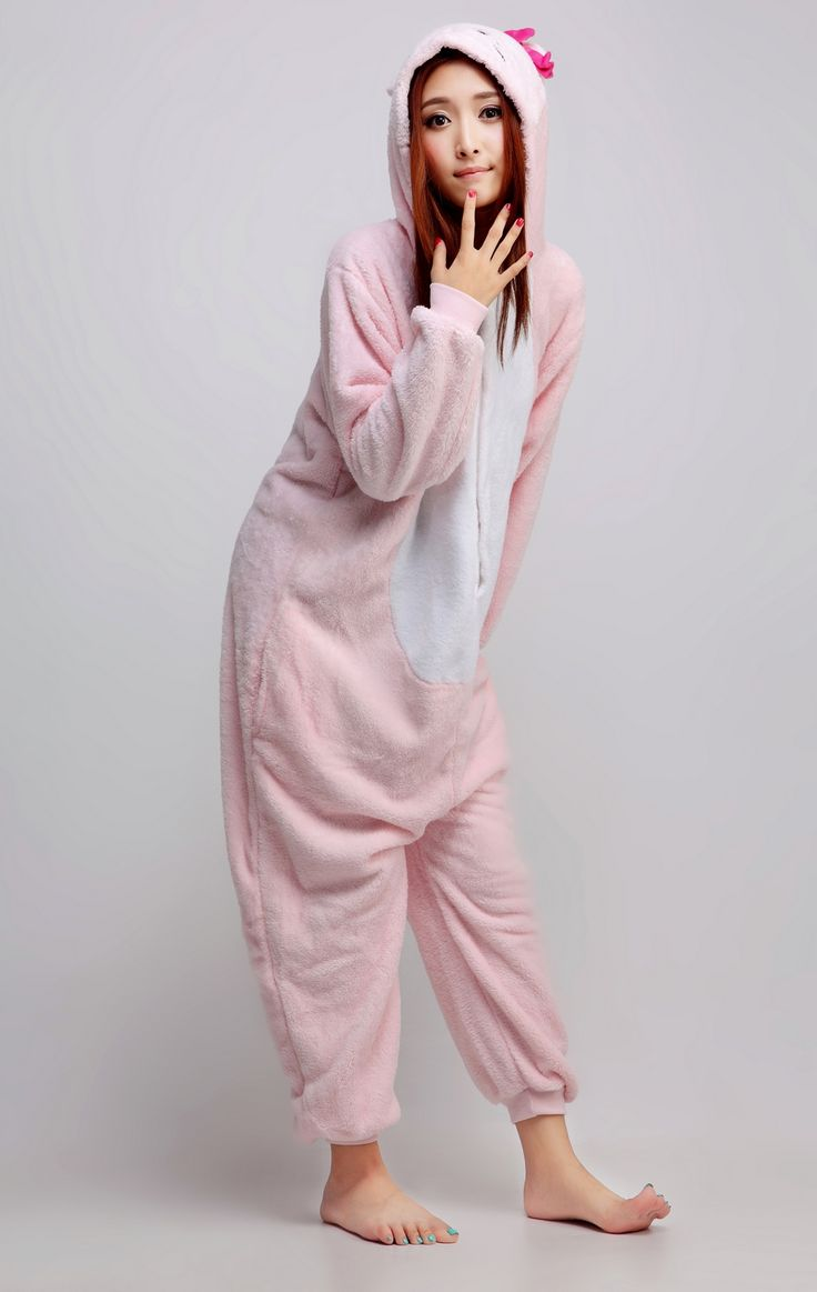 You'll look adorable in this super cute Sanrio character named Hello Kitty. You will be the most adorable kitty character and everyone would be addicted to you globally. You are a character without having a single bit of madness and wildness in you once you wear your Hello Kitty Kigurumi.