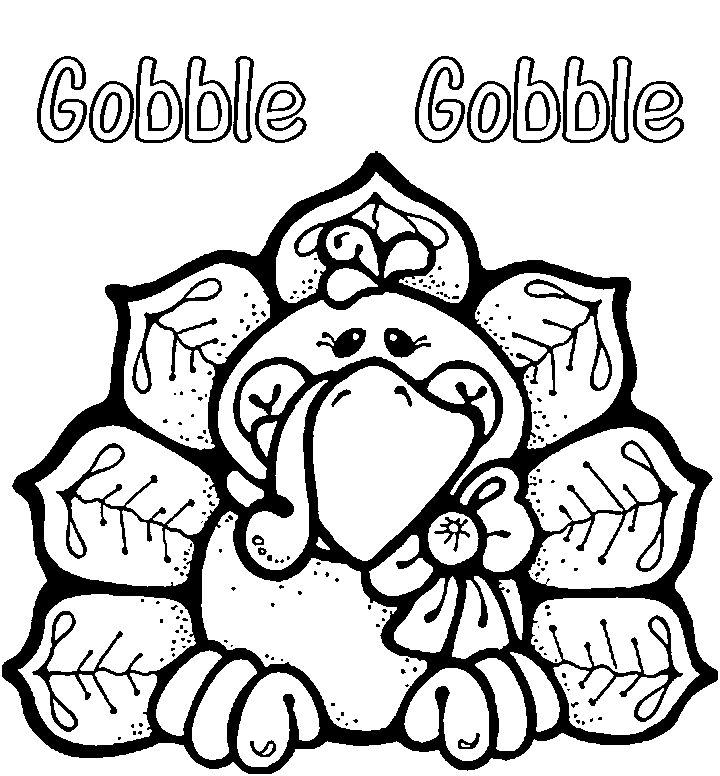 Image detail for thanksgiving turkey coloring pages to print for kids