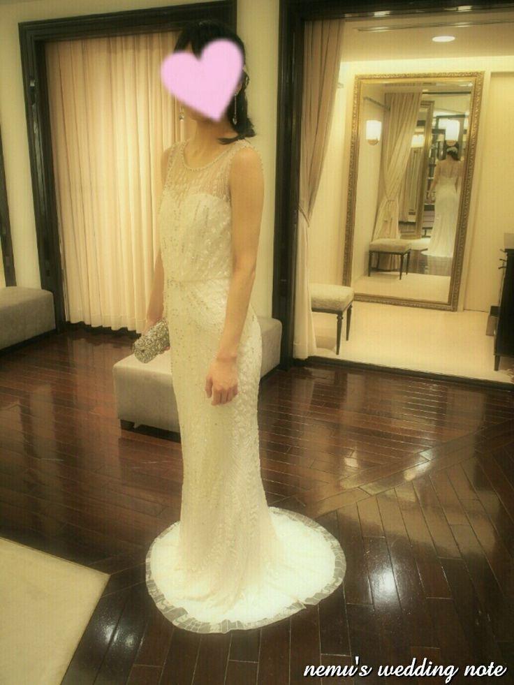ウェディングドレス トリートドレッシング ドレス試着 ジェニーパッカム weddingdress treatdressing Jennypackam