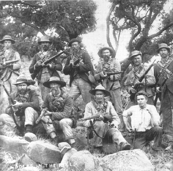 Afrikaner Guerillas during Second Boer War by  Unknown Artist