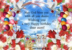Happy Birthday Wishes for Aunt   ... birthday wishes for aunt birthday wishes messages funny birthday