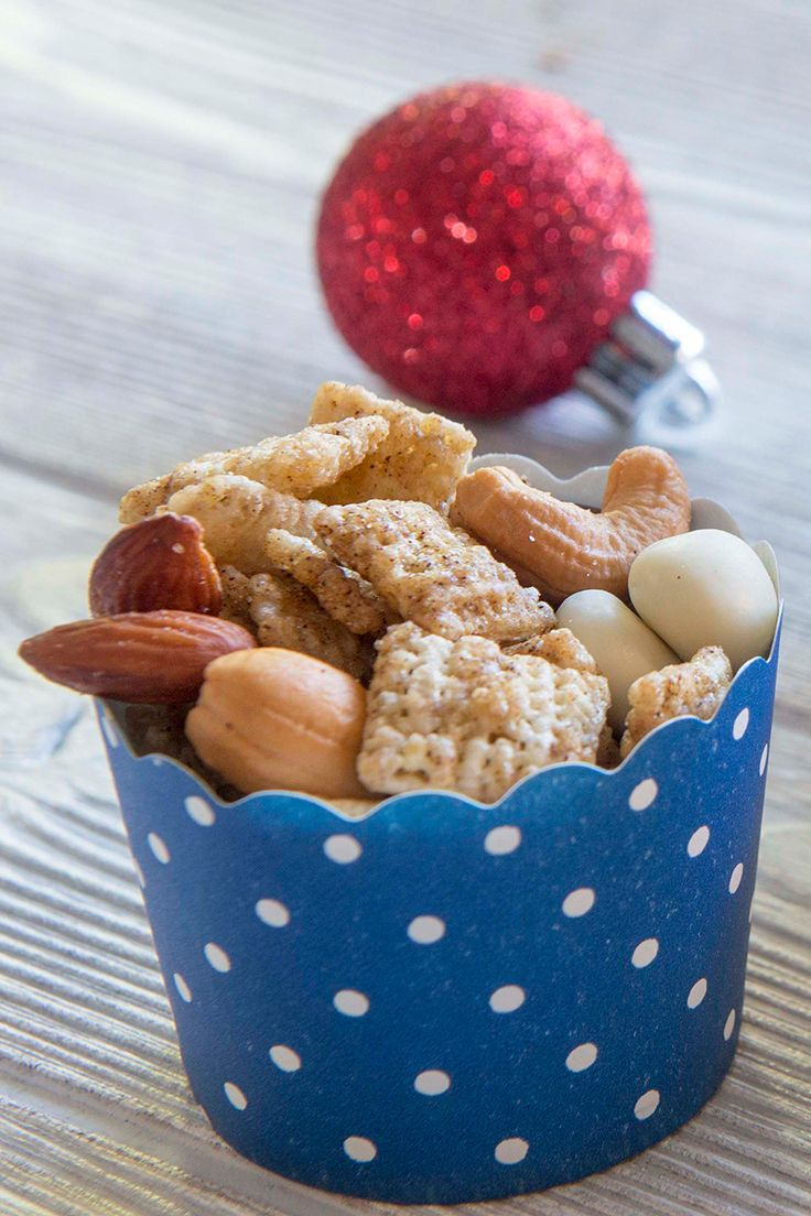 We have a lot of heart for this Brown Sugar Spice Chex Party Mix - perfect in small cups at a cookie exchange too!
