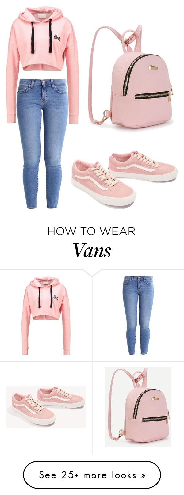 """""""Outfit ♡"""" by geovanacaroline on Polyvore featuring Current/Elliott and Vans"""