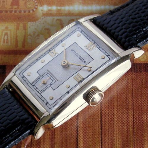 13 best vintage watches images on pinterest antique watches mens longines wittnauer solid gold tonneau vintage swiss deco watch a sciox Choice Image
