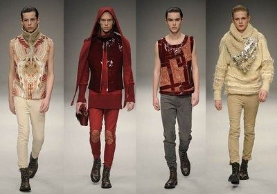 Style Salvage - A men's fashion and style blog.: What an afternoon...highlights from LFW 2009