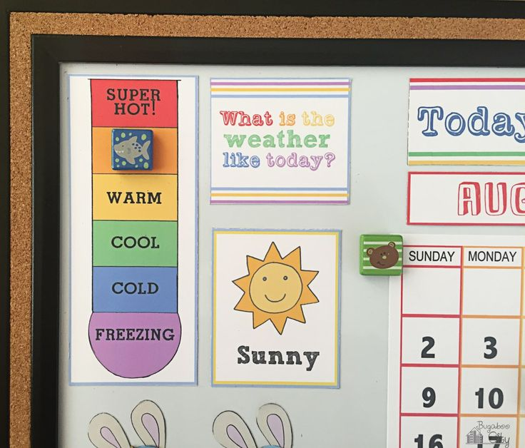 Diy Calendar For Kindergarten : The best toddler calendar ideas on pinterest kids