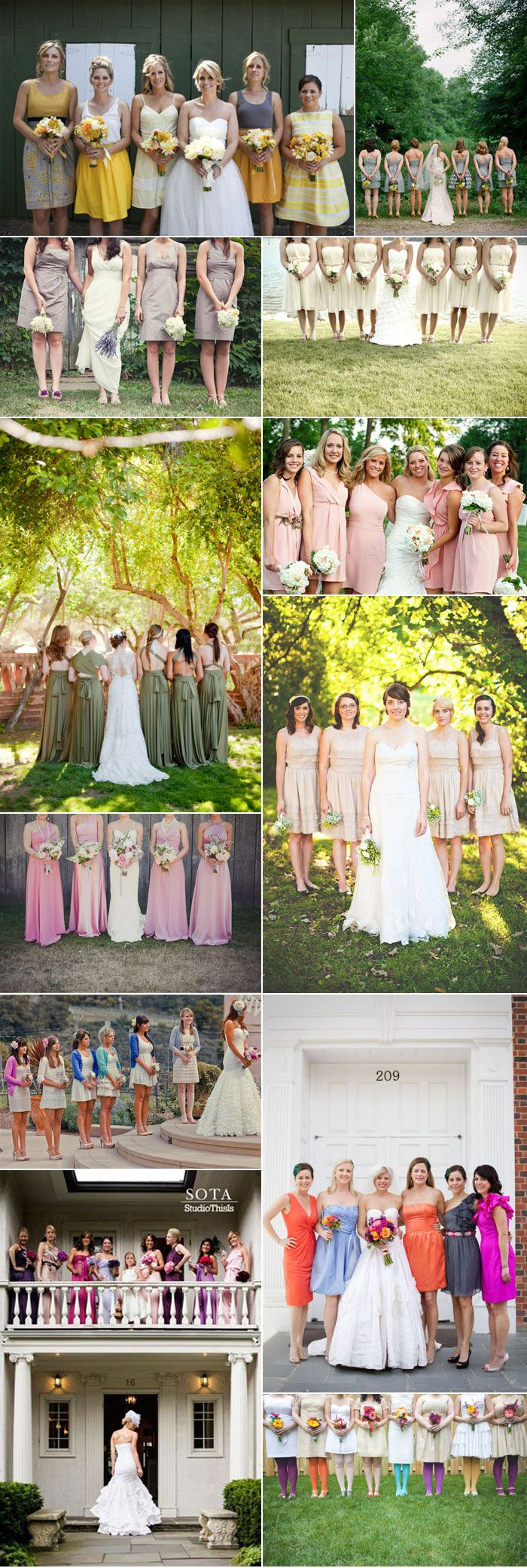 Bridesmaid wedding photography ideas