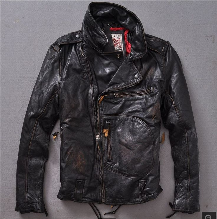 Find More Leather & Suede Information about 2015 Retro Do the old Thicken Locomotive Cowhide Jacket Lapel Diagonal zipper Distressed Men's leather jackets,High Quality leather shearling jacket,China leather jacket down Suppliers, Cheap leather coat jacket from Freedom-Enterprising on Aliexpress.com