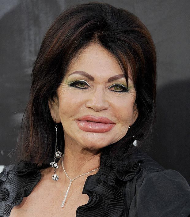 Forget The New Expendables Movie Jackie Stallone S Lips
