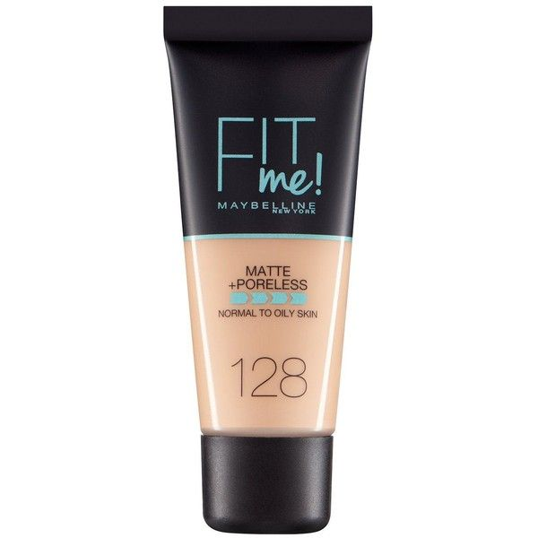 Maybelline Maybelline Fit Me Matte Poreless Foundation ($7.68) ❤ liked on Polyvore featuring beauty products, makeup, face makeup, foundation, maybelline, maybelline face makeup and maybelline foundation