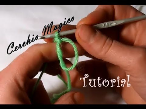 Tutorial cerchio magico uncinetto - YouTube
