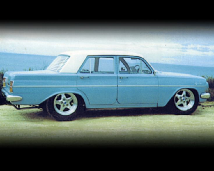 EH Holden similar to Dad's 1964. His was blue with a white flair. Robert had one too.