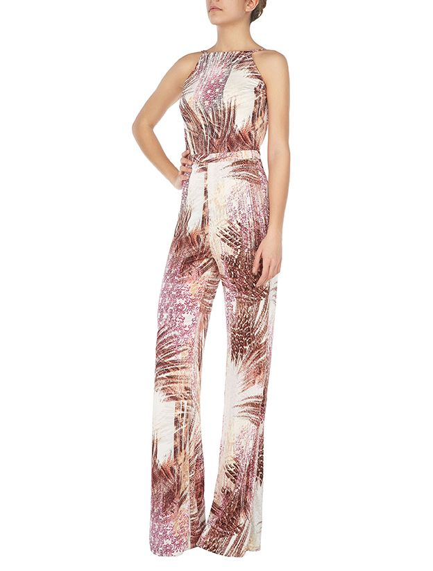Del Ray jumpsuit #pink print