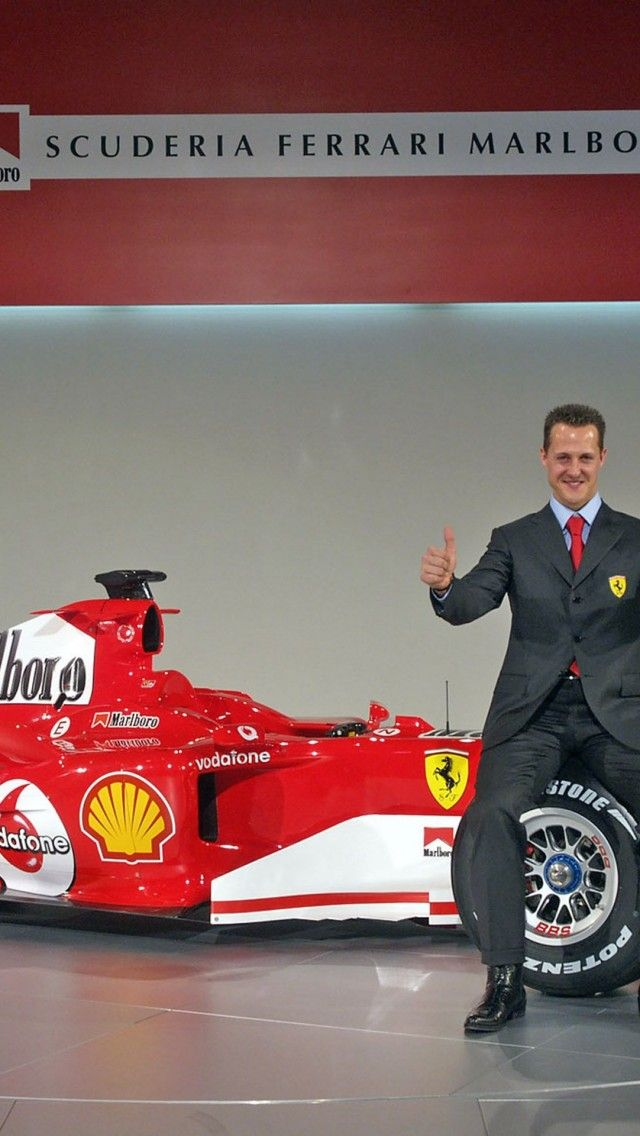 Michael Schumacher Ferrari iPhone 5 Wallpaper iPhone