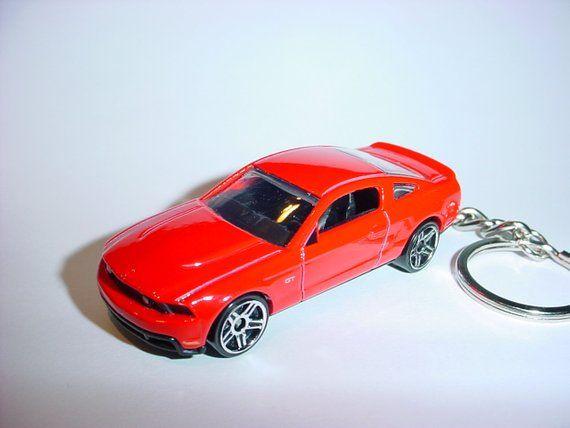 3d 2010 Ford Mustang Gt Custom Keychain By Brian Thornton Keyring