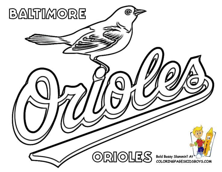 MLB Baseball Coloring Pages | Baseball Coloring Sheet | Baseball | Free Baseball Coloring | American ...