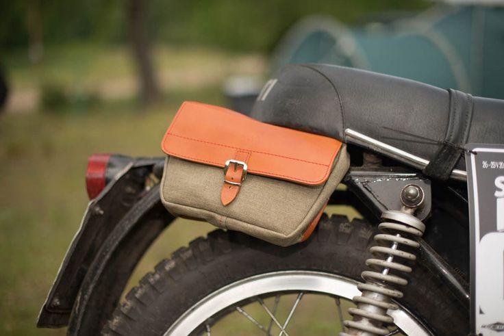 Mini Moto Bag - small motorcycle pannier bag