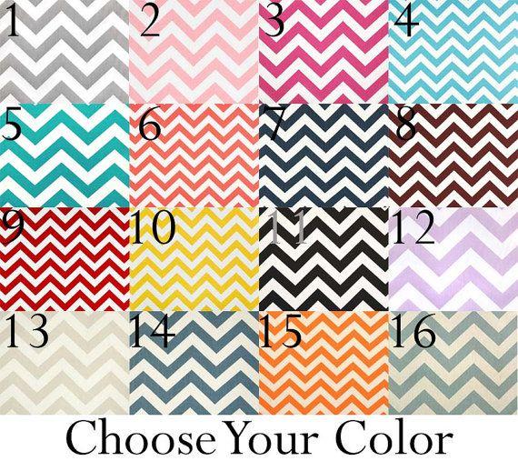 Fenster Volant - wählen Sie Ihre Farbe! Chevron Vorhang Volant - 50 x 14 Zoll