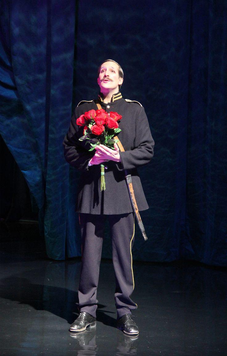 Soldaten (skådespelare Filip Tallhamn). Kostymdesigner Lotta Nilsson. Fotograf Linda Sinkkonen.