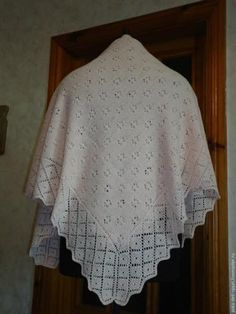 Вяжем оренбургский платок. Мастер-класс для начинающих - Ярмарка Мастеров - ручная работа, handmade