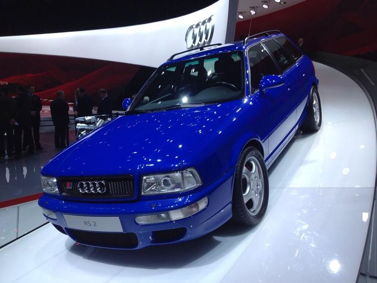 Twitter / AKuhlig: Audi RS2