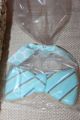 Celebrate Life Everyday: Bow Tie Themed Baby Shower