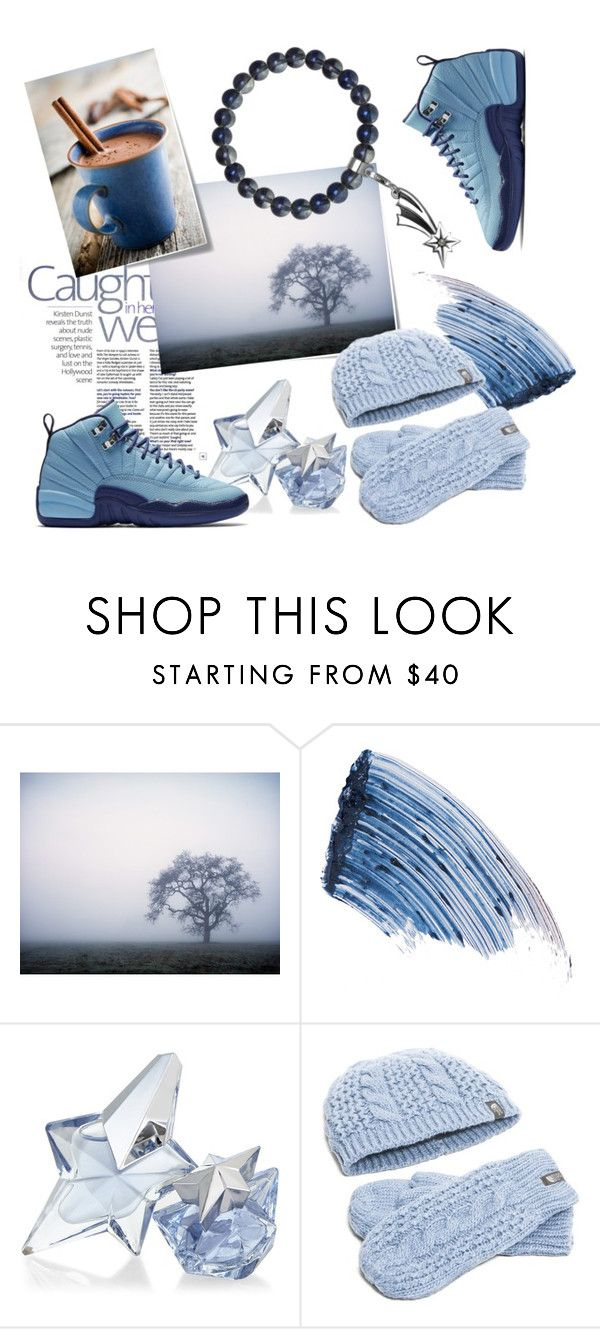 """""""Freezing day"""" by ledile on Polyvore featuring Post-It, Sisley, Thierry Mugler и The North Face"""