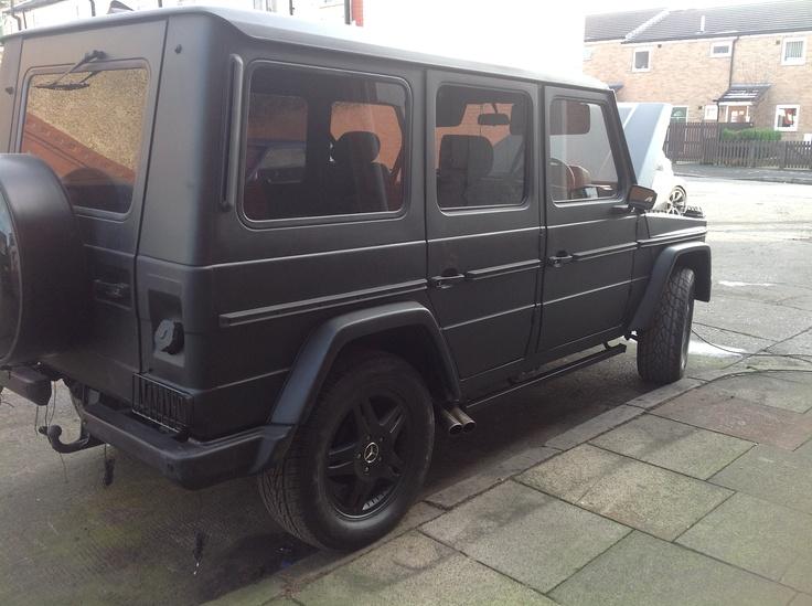 mercedes w460 matt black g wagon cars pinterest g wagon and black. Black Bedroom Furniture Sets. Home Design Ideas