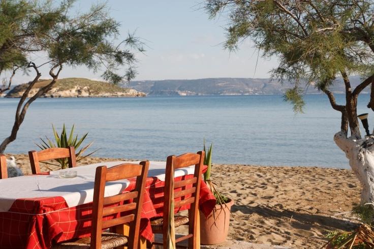 # Crète : une table dans un lieu parfait pour déguster la fameuse cuisine crétoise !
