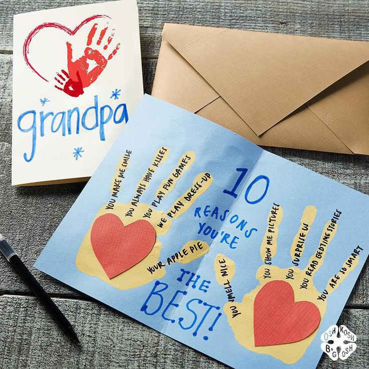 """Psst… Grandparents Day is Sunday! Have your OshKosh kids made a card for Mimi & Papa? You still have time for this kid-friendly craft:…"""
