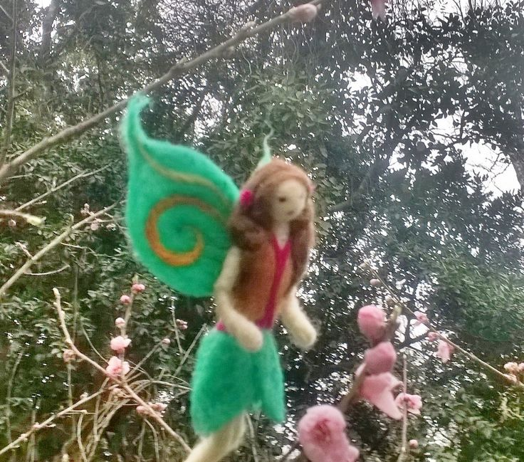 felted fairy by mialma