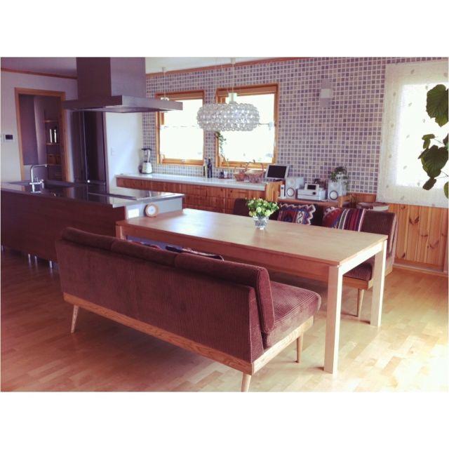 ①と同じ場所   ソファーダイニング/以前の写真/ダイニングテーブル/SERVEダイニングテーブルのインテリア実例 - 2015-05-15 17:34:32 | RoomClip(ルームクリップ)
