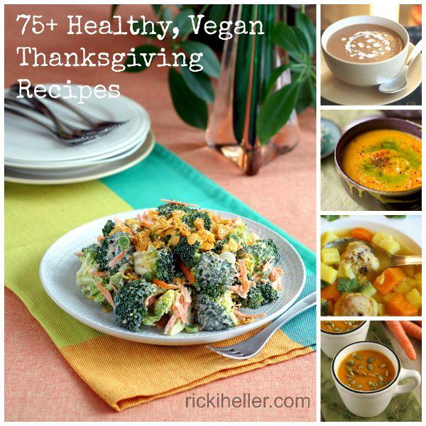 Sugar-Free, Gluten-Free, Healthy Vegan Thanksgiving Recipes on RickiHeller.com