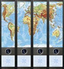 Ordnerrücken Weltkarte                                                                                                                                                                                 Mehr
