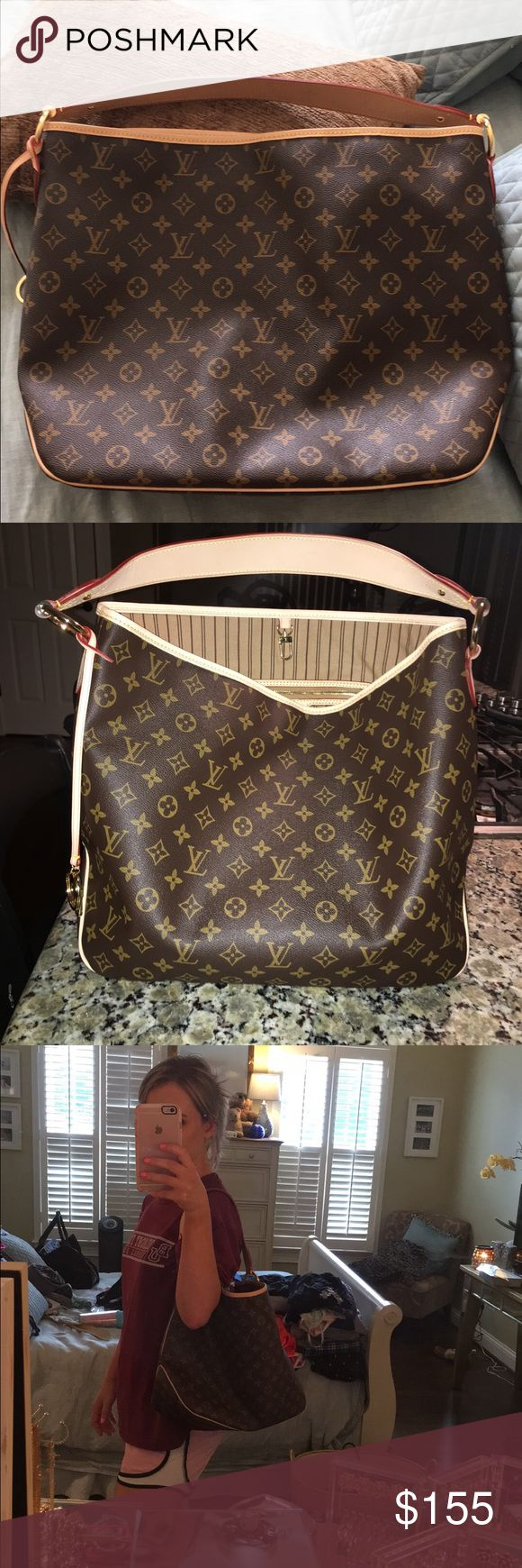 Louis Vuitton Delightful MM Starting to patina purchased in NY Bags Shoulder Bags
