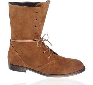 Lederen enkellaars - Schoenen - Dames - vanHaren Schoenen