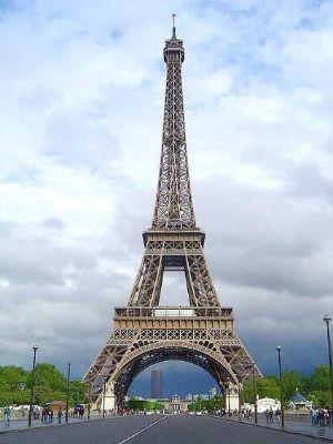 Eiffelova věž vPaříži