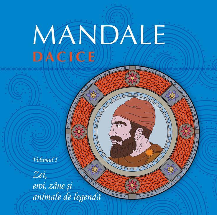 Mandale dacice - Carte de colorat pentru copii | Dacia Art