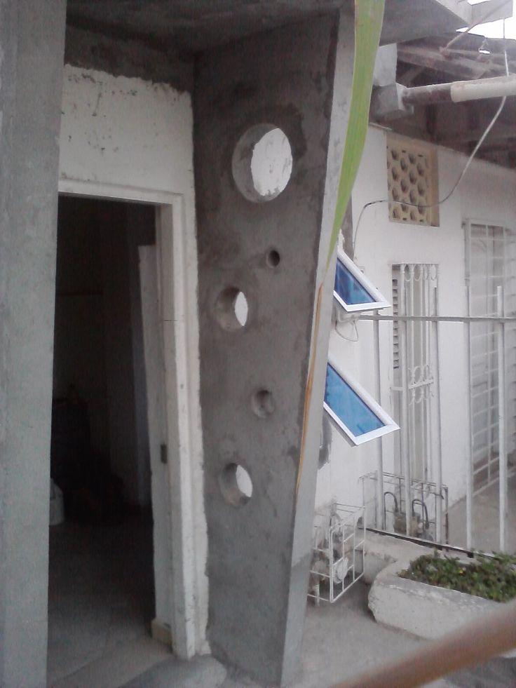 levante muros  de fachada