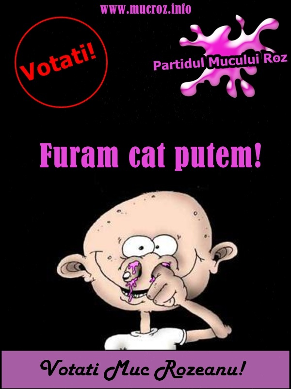 Campanii Electorale  – Votati Muc Rozeanu!