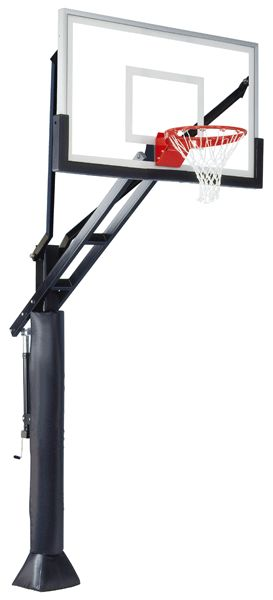 Ironclad Sports Full Court XL In Ground Outdoor Adjustable Basketball Hoop 60 inch Tempered Glass from NJ Swingsets